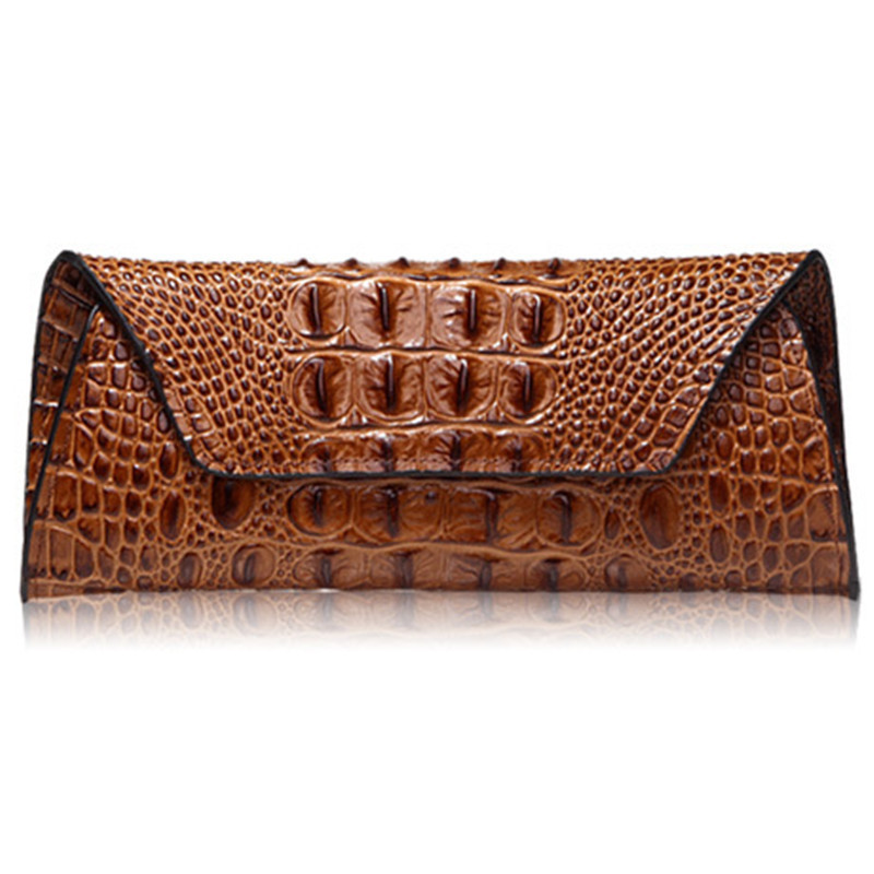 Women Wallets Long crocodile Real Leather Wallet Female Serpentine Clutch Coin Purse Card Holder Ladies Fashion Brand Wallet