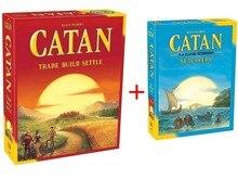 Катан Настольная игра: торговли построить урегулировать 5,0 версия/моряков 5-6 плеер Extension pack