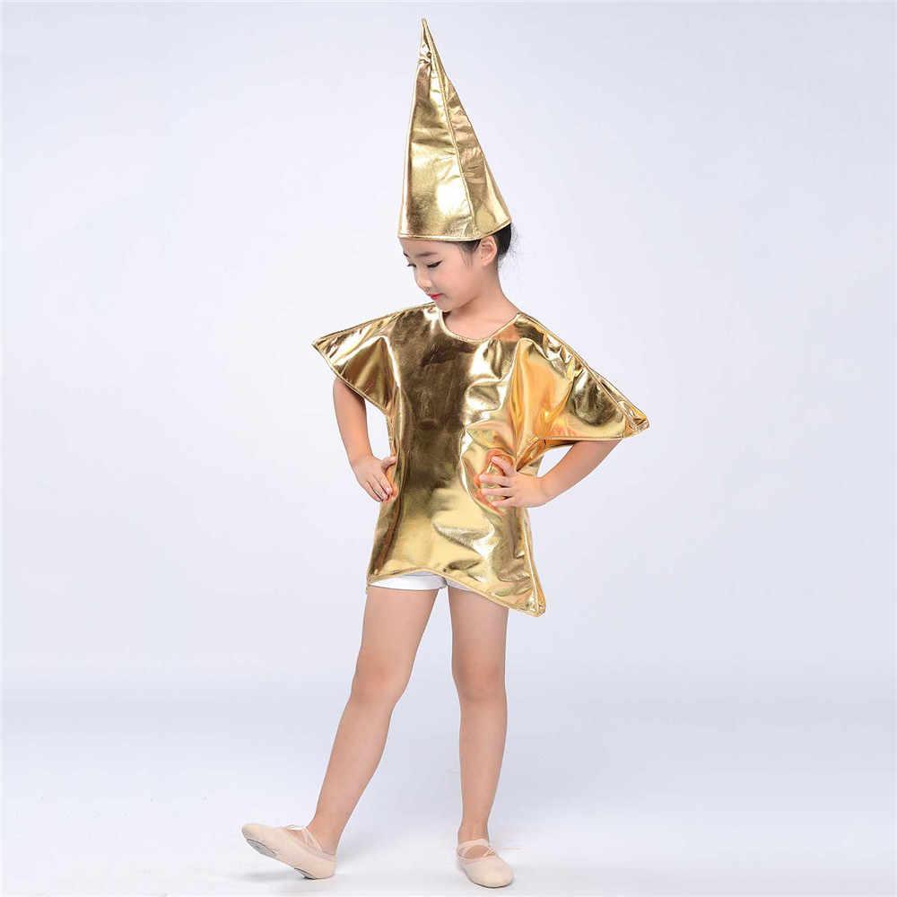 Estrella De Navidad Niños Disfraz Natividad Jugar Chicos Chicas Childs Traje de Disfraz