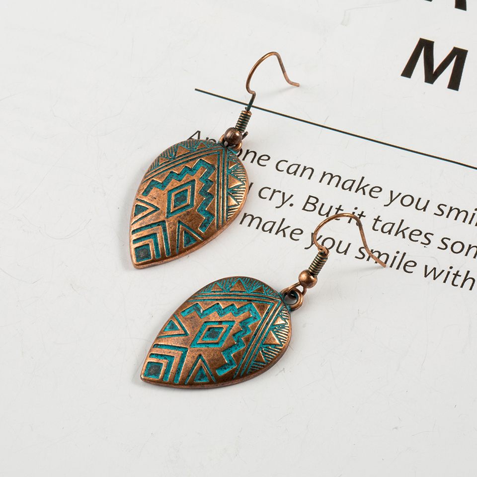 Boho Ethinic Dangle Drop Earrings Hanging for Women  4