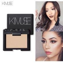 KIMUSE Foundation Exquisite Baked Makeup Blush Palette Cream Blush Blusher With Mirror Glow Kit Natural Bare Make Up Primer Set все цены