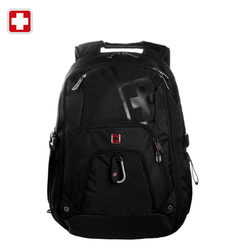 Swiss Brand Laptop Backpack for 15 Notebook Computer Waterproof Men's Casual Backpack For Business Travel Sac a dos Rucksack new notebook laptop keyboard for asus gfx70js gfx70jz french fr layout