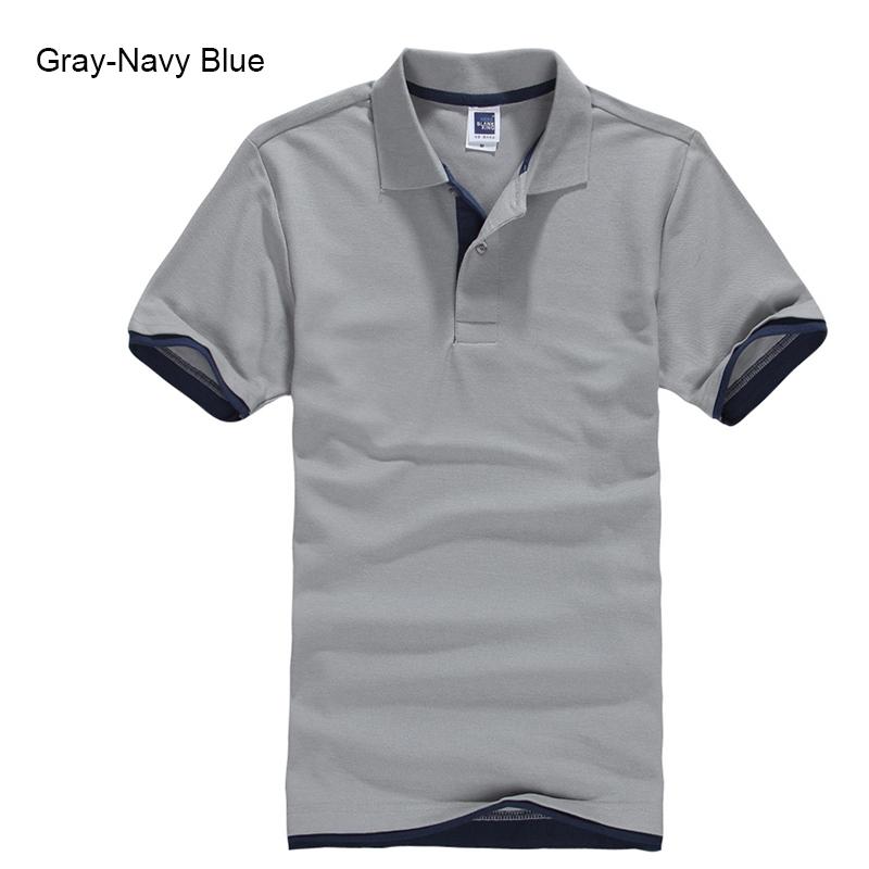 URSPORTTECH Men's Polo Shirt For Men Desiger Polos Men Cotton Short Sleeve shirt Clothes jerseys golftennis Plus Size XS- XXXL 32