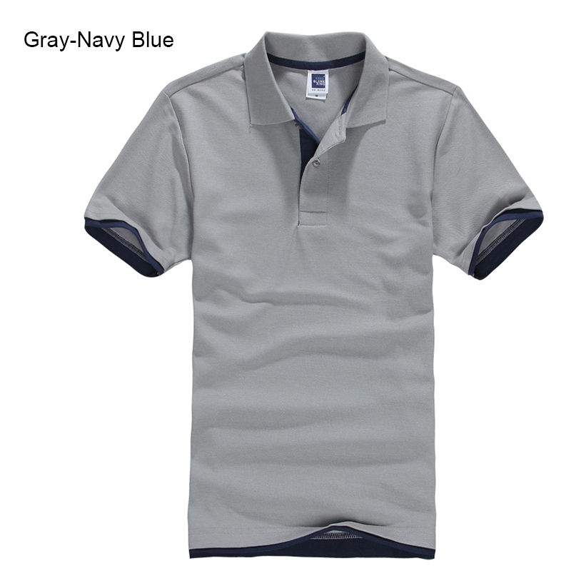 Brand New Men's Polo Shirt High Quality Men Cotton Short Sleeve shirt Brands jerseys Summer Mens polo Shirts 117