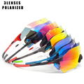 New TR90 Polarized Sunglasses MTB Road Cycling Glasses Bicycle Riding Goggles Bike Bicycle Cycling Eyewear SunGlasses evzero