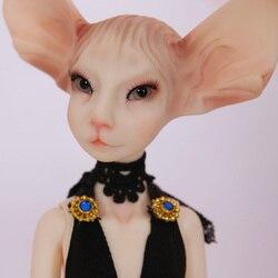 Darmowa wysyłka lalki BJD Sphynx kot Lillycat Constantine NobleA Radicelle unikalne dość rysunek zabawki dla dzieci żywica lalki luodoll