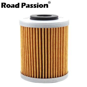 Road Passion filtro de aceite para motocicleta red para KTM 525 EXC RACING 450 XC-W SMR XC-G SXC SXS SX 540, 625, 449, 400, 650 LC4 SUPERMOTO