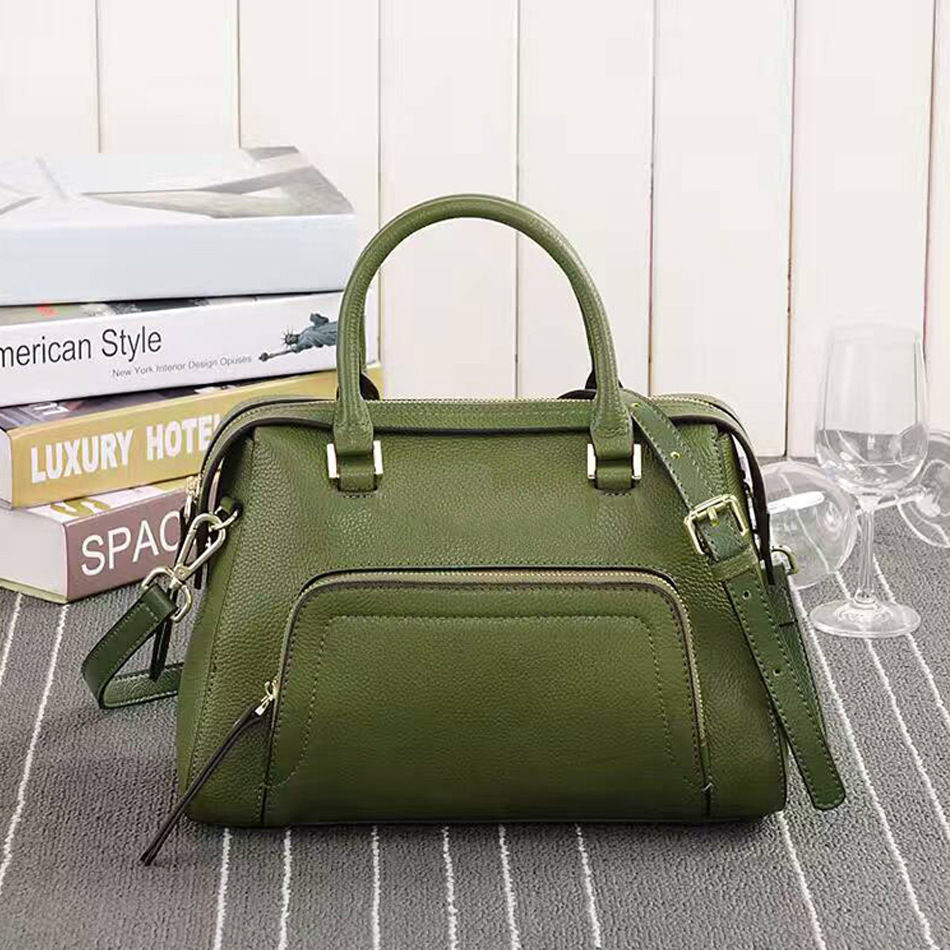 Shengdilu New Arrival 2017 Brand Genuine leather Women Handbag Soft Leather Fashion Shoulder Bag Casual Women MonBag new 2017 fashion brand genuine leather women handbag europe and america oil wax leather shoulder bag casual women
