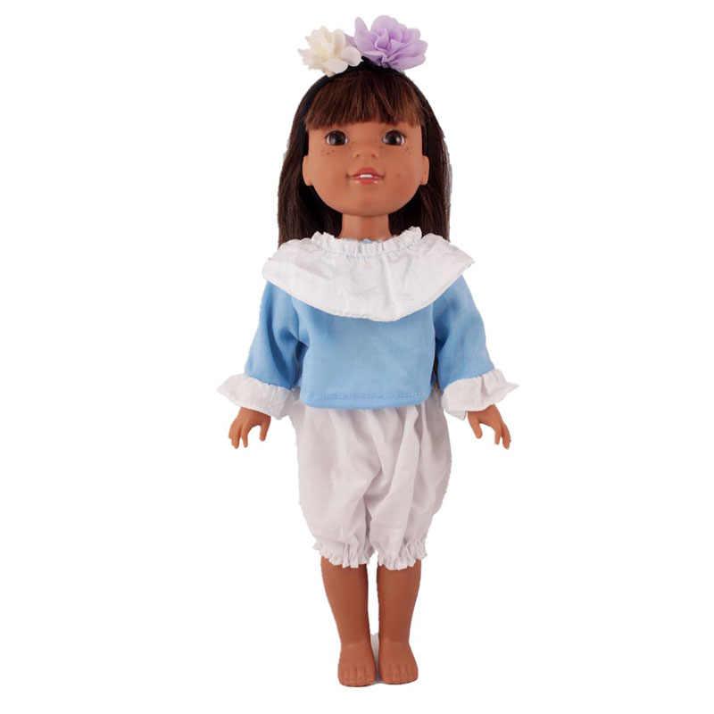 14 дюймов США Девочка Кукла одежда подходит 36 см детская кукла 15 различных стилей повседневная одежда детский лучший подарок кукла