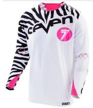 2019 seven DH take motocross jersey custom long sleeve  downhill Custom color size 5XL