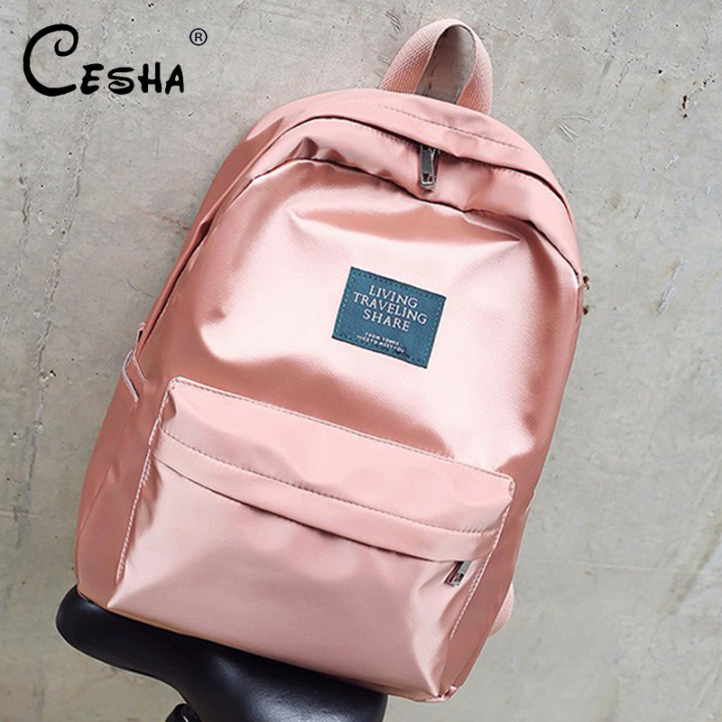 Fashion Casual Women Backpack Soft Fabric Backpacks Girls School Bags Nylon Travel Backpack Female Backpack Mochila with gift(China)