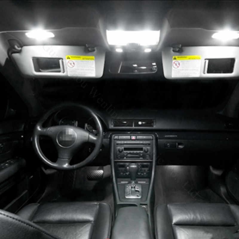 Wljh 4X12 V 24 V CANBUS Kesalahan Gratis Mobil LED 31 Mm 36 Mm 39 Mm 41 Mm 3030 SMD 3175 6411 C5W C10W Interior Eksternal Auto Lampu Lampu Bohlam