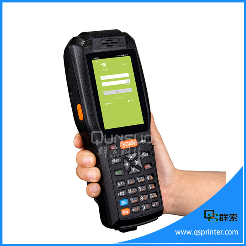 Android Industrial Pda With Rfid Reader Barcode Scanner