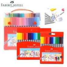 Faber Castell Color Marker Fineliner Fine Pen 0 4 mm 12 18 30 Watercolors Set Detail