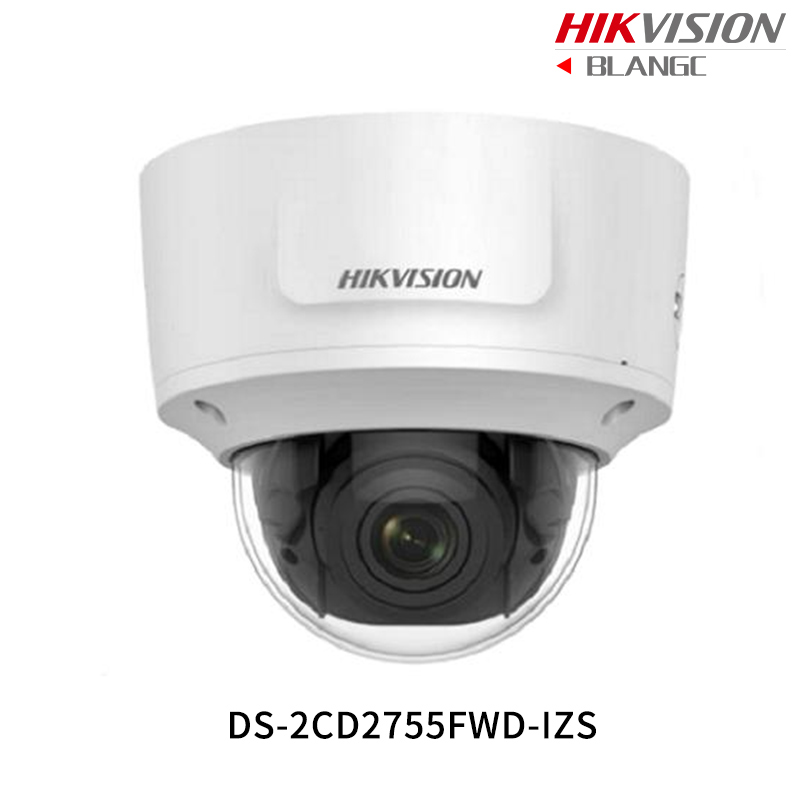 Hikvision 5MP WDR Vari-focal CCTV IP Camera H.265 DS-2CD2755FWD-IZS Dome Security Camera 2.8-12mm face detection IP67 IK10 hikvision ds 2cd2742fwd is 4mp wdr vari focal dome camera