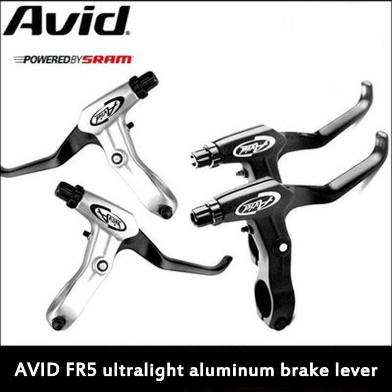 AVID fr5 brakes pull the brake handle on the mountain bike brake and the handle dies before and after the brake