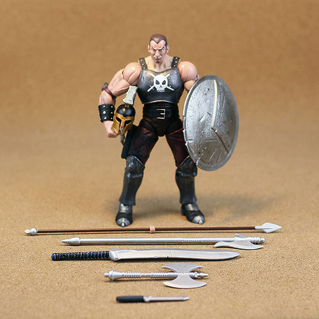 """ML Toy Biz Legends Ares Full Accessories BAF 7"""" Action Figure Loose TOY FREE SHIPPING"""