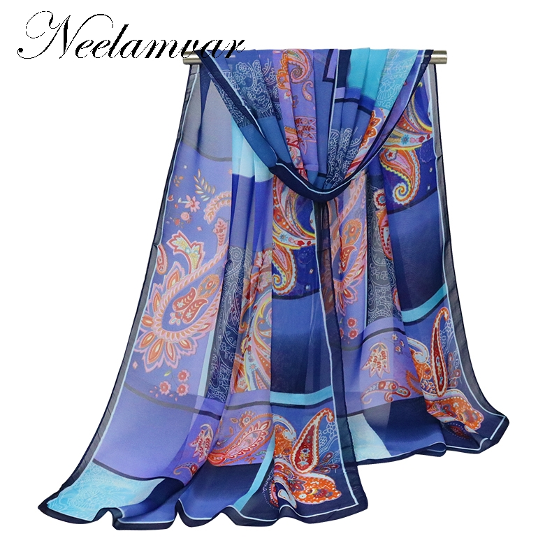 new fashion pashmina women scarf new design Cashew shawl Cape silk chiffon Tippet muffler hijab Scarves bufandas free shipping