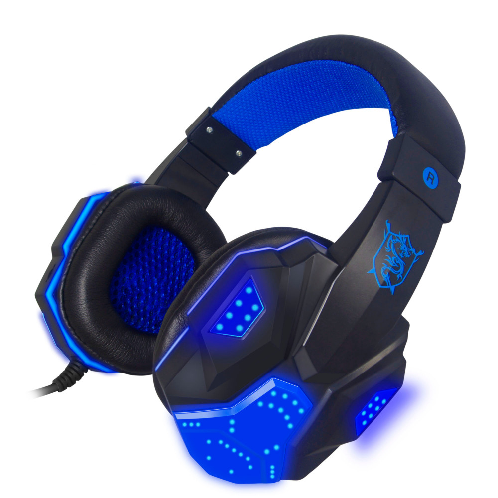 PLEXTONE PC780 Stereo Gaming Headsets with Microphone Wired Headphone with LED Light Voice Control Noise Cancelling PC Headphone sy850mv new gaming headsets with lights portable office wired noise cancelling headbands with microphones for computers pc