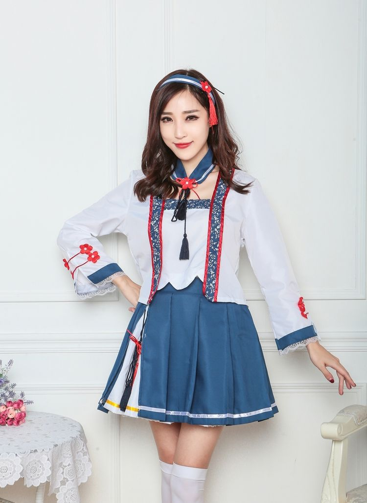 Halloween Student HunHun cosplay costume erotic disfraces adulto Clothing game costume for women fancy party anime costume set