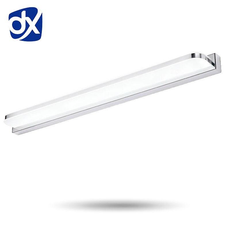 Hosszabb LED tükörfény 25cm ~ 112cm AC90-260V modern kozmetikai - Beltéri világítás