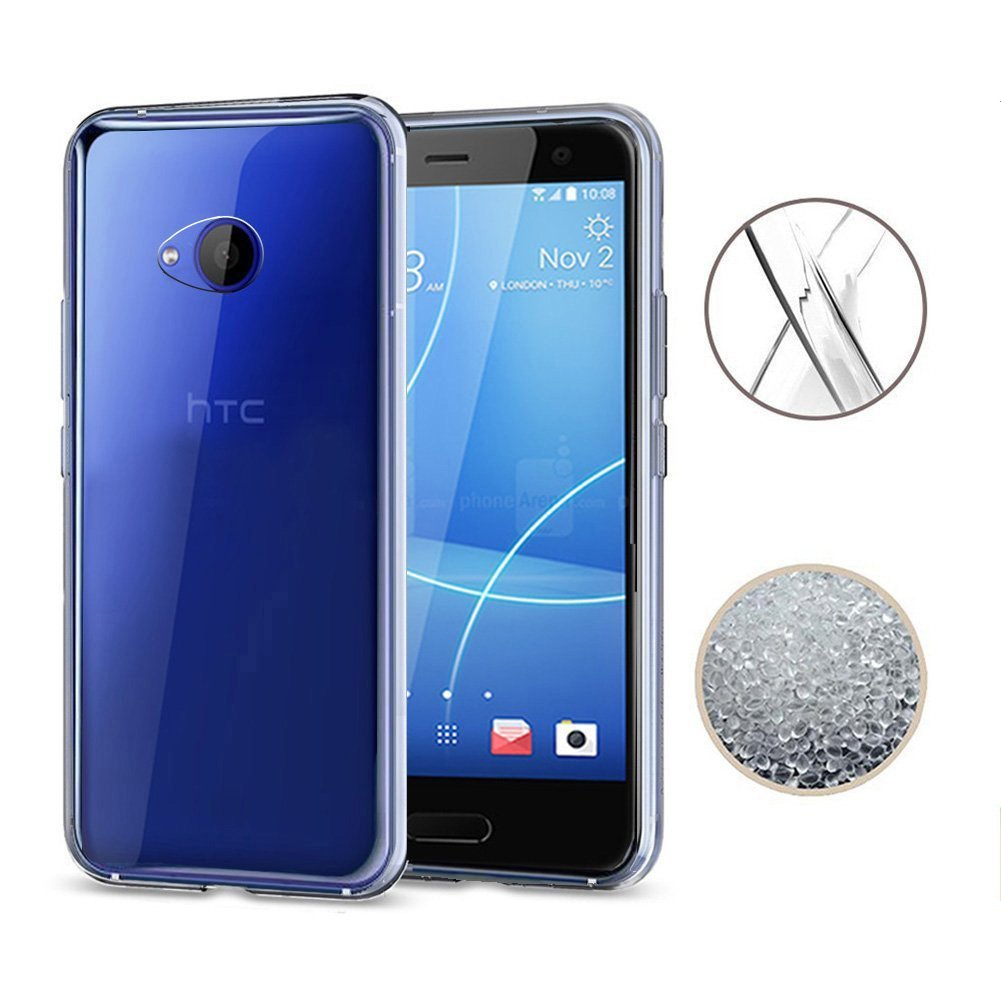 Phone Bags & Cases Cellphones & Telecommunications For Htc U11 U11 Plus Clear Soft Silicone Tpu Case Crystal Slim Anti Slip Case Back Protector Cover For Htc U11 Life U11 Eyes