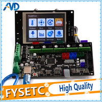 Gen V1.4 Control Board Compatible For Ramps1.4/Mega2560 R3 3D Printer Parts With TFT32 LCD Screen Display