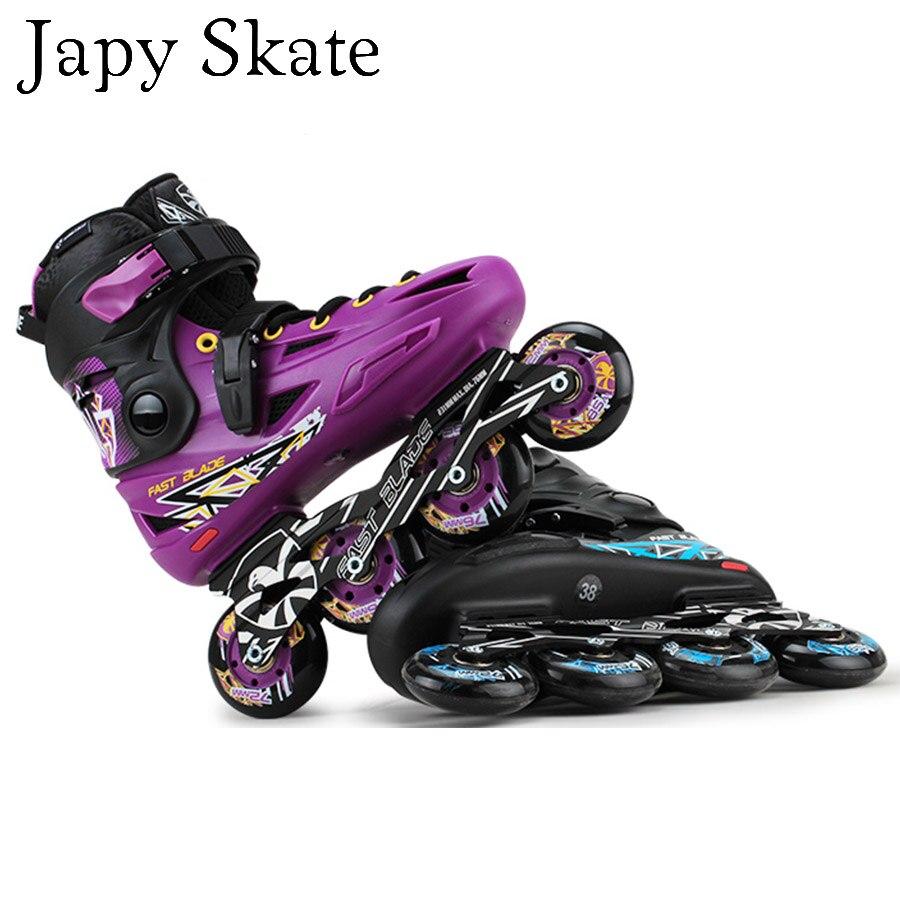 Prix pour Jus japy Skate Flying Eagle FBS Patins À Roues Alignées Falcon Professionnel Adulte Chaussures Roller Slalom Coulissante Livraison De Patinage Bon Que SEBA