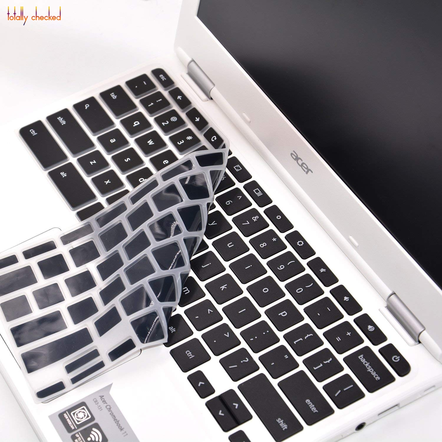"Silicone Laptop Keyboard Cover Protector skin for Acer Chromebook R11 11"" 13"" 14"" 15.6"" CB3 131"