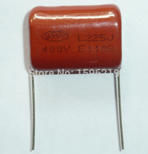 10pcs CBB capacitor 225 400V 225J 2 2uF 2200nF P26 CL21 Metallized Polypropylene Film Capacitor