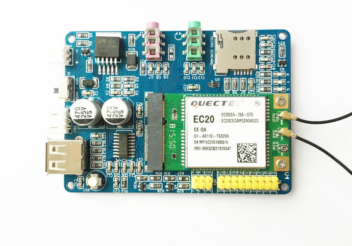 Fast Free Ship For Quectel EC20 4G Module 4G development board Net Path PCIE  interface 7 MODEL SCM Demo board fast free ship for stm32 bc95 module bc95nb iot development nbiot development board iot development board
