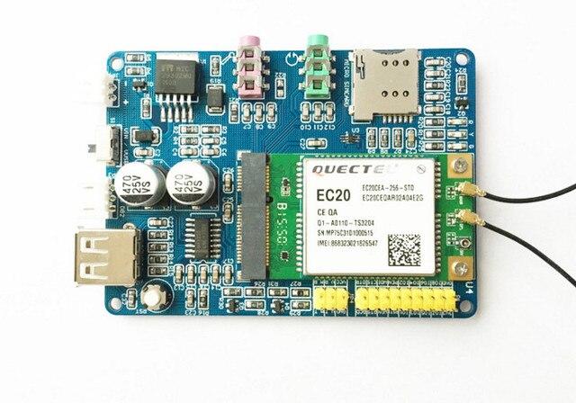 Fast Free Ship For Quectel EC20 4G Module 4G development board Net Path  PCIE interface 7 MODEL SCM Demo board-in Demo Board from Computer & Office
