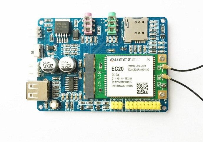 Livraison gratuite rapide pour Quectel EC20 4G Module 4G carte de développement Net chemin PCIE interface 7 modèle SCM carte de démonstration