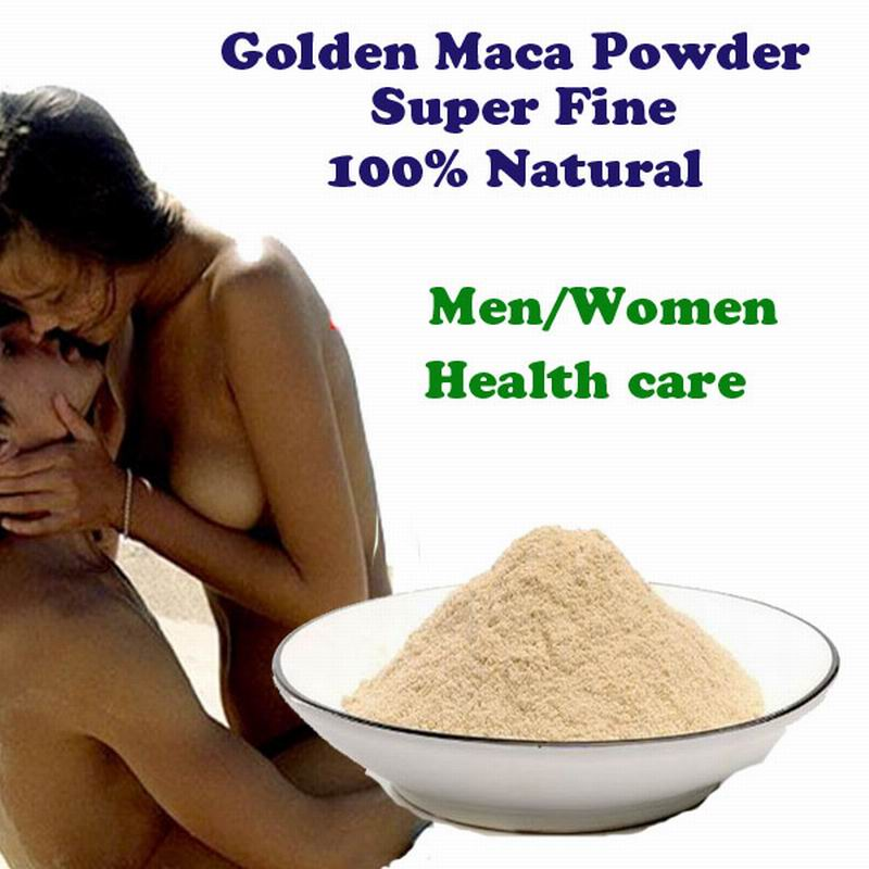 1 lot = 100g Peruvian Golden Maca Root powder 100% Natural Organic superfine Maca Powder sex energy booster men health care