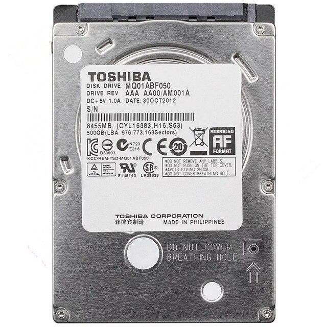 Toshiba 500 gb HDD 2.5 Sata cho Máy Tính Xách Tay 2.5 Sata Ổ Đĩa Cứng Nội Bộ Ổ Cứng 500 gb Hard Disk Hardisk HD 7200 vòng/phút Miễn Phí Vận Chuyển