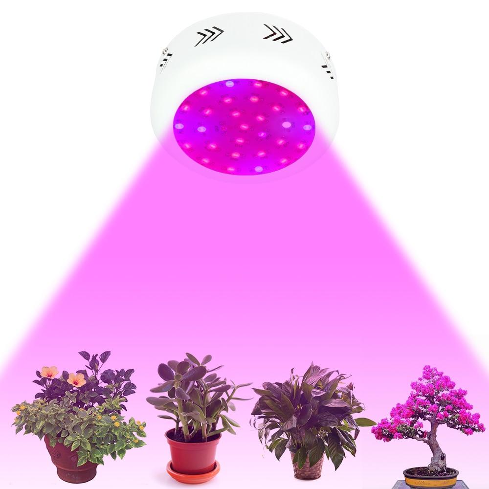 ФОТО 1pcs Led Grow Light Full Spectrum Led Plant Lamp 300W UFO Double Chip Red+Blue+White+UV+IR Indoor Greenhouse Hydroponic Grow Box