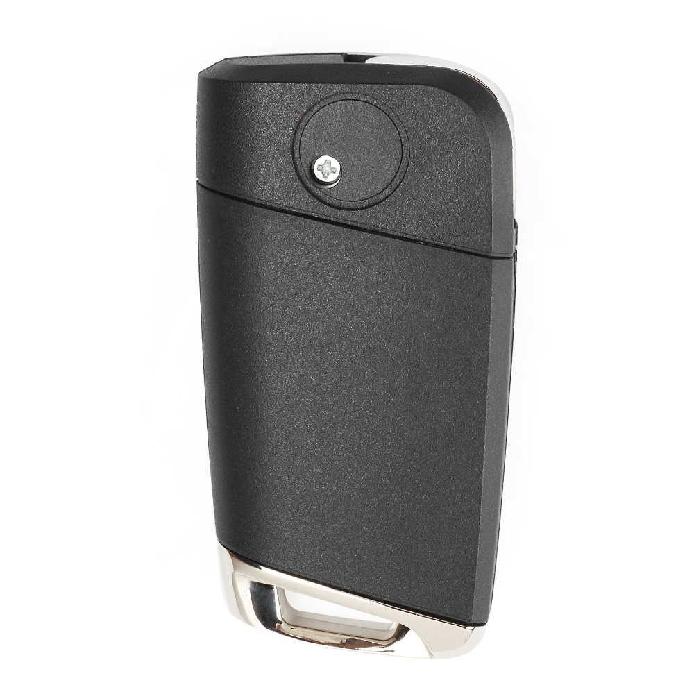 Keyecu Aftermarket Remote Kunci Fob 3 Tombol untuk Volkswagen MQB Golf VII MK7, untuk Skoda Octavia A7 2017 P/N: 5G0 959 753 BC