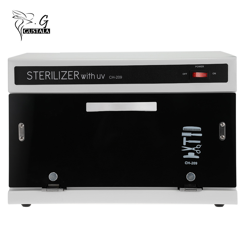 High Temperature Sterilizer Nail Art Nails Sterilizer Nail Tools Manicure Machine UV Disinfection Sterilizer Box Cabinet Salon