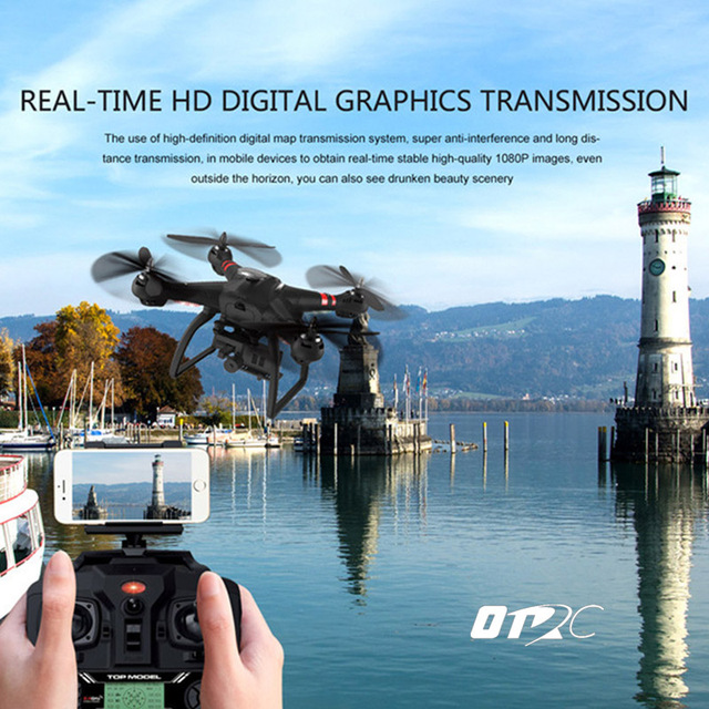 OTRC X21 drone with HD camera 1080P image wifi follow me shot Double GPS Brushless motor stable wind Headless Quadcopter