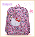 Present Most Popular Hello Kitty Children School Bags Backpack For Kids Girls Free Shipping
