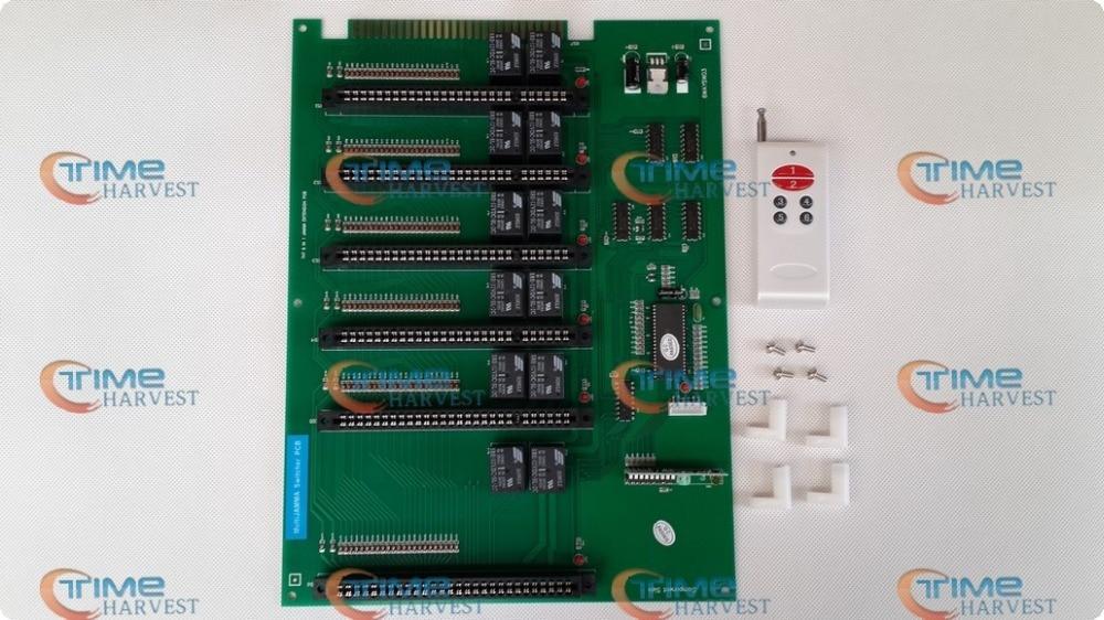 6 in 1 Jamma extension PCB converter board 1 jamma to 6 jamma converting board for