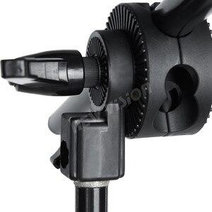 """Image 4 - Braço telescópico de estúdio, 75 140cm / 30 """" 55"""" para fotos, braço de boom, luz superior, com sandbag para speedlite/mini flash estroboscópico"""