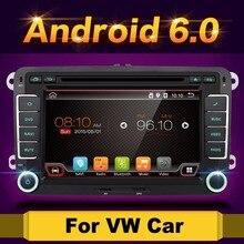 Android 6.0 7″ 2din Car DVD for VW POLO GOLF 5 6 POLO PASSAT B6 CC JETTA TIGUAN TOURAN EOS SHARAN SCIROCCO CADDY with GPS Navi