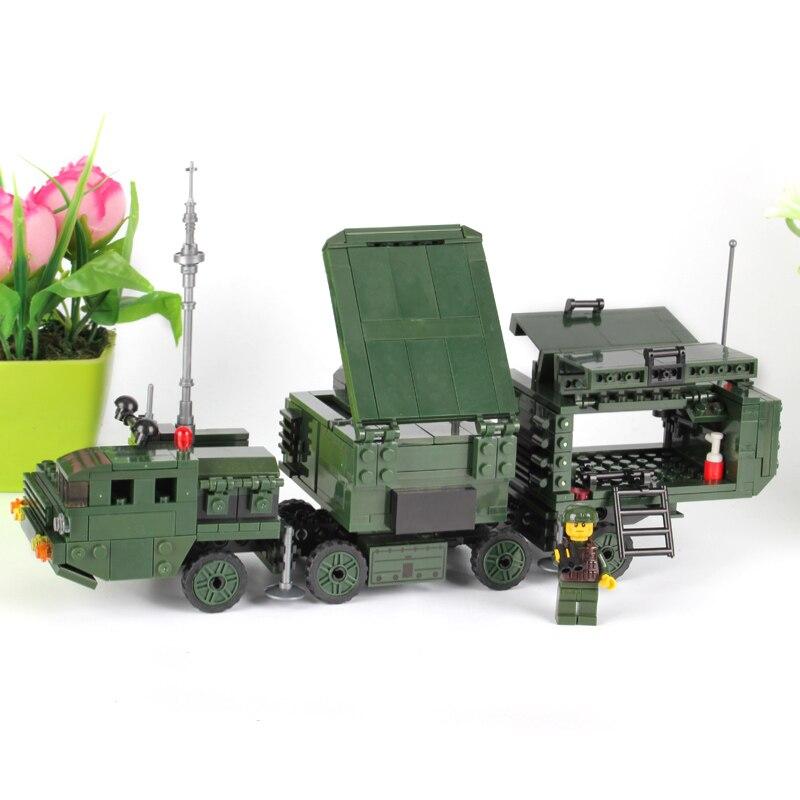 DIY Christmas Toys Gifts for Children KAZI Buildings Nano Blocks Children Model Toys Educational Toy Military Range Army Series