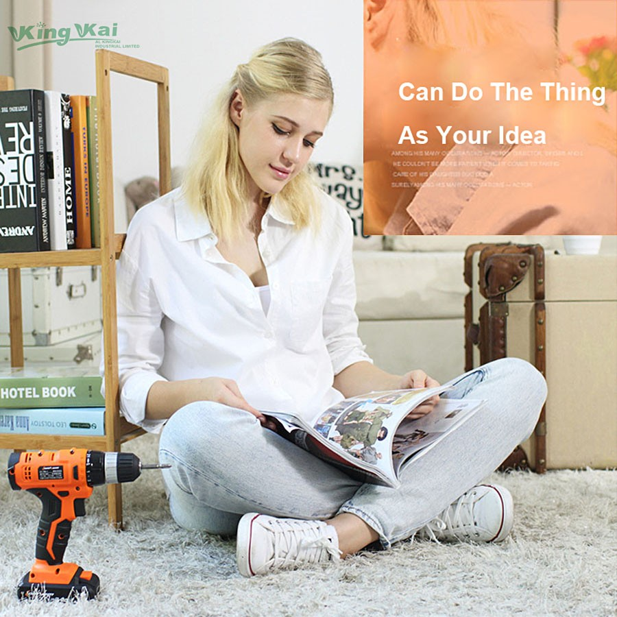Cordless Lithium Battery Electric Drill-06