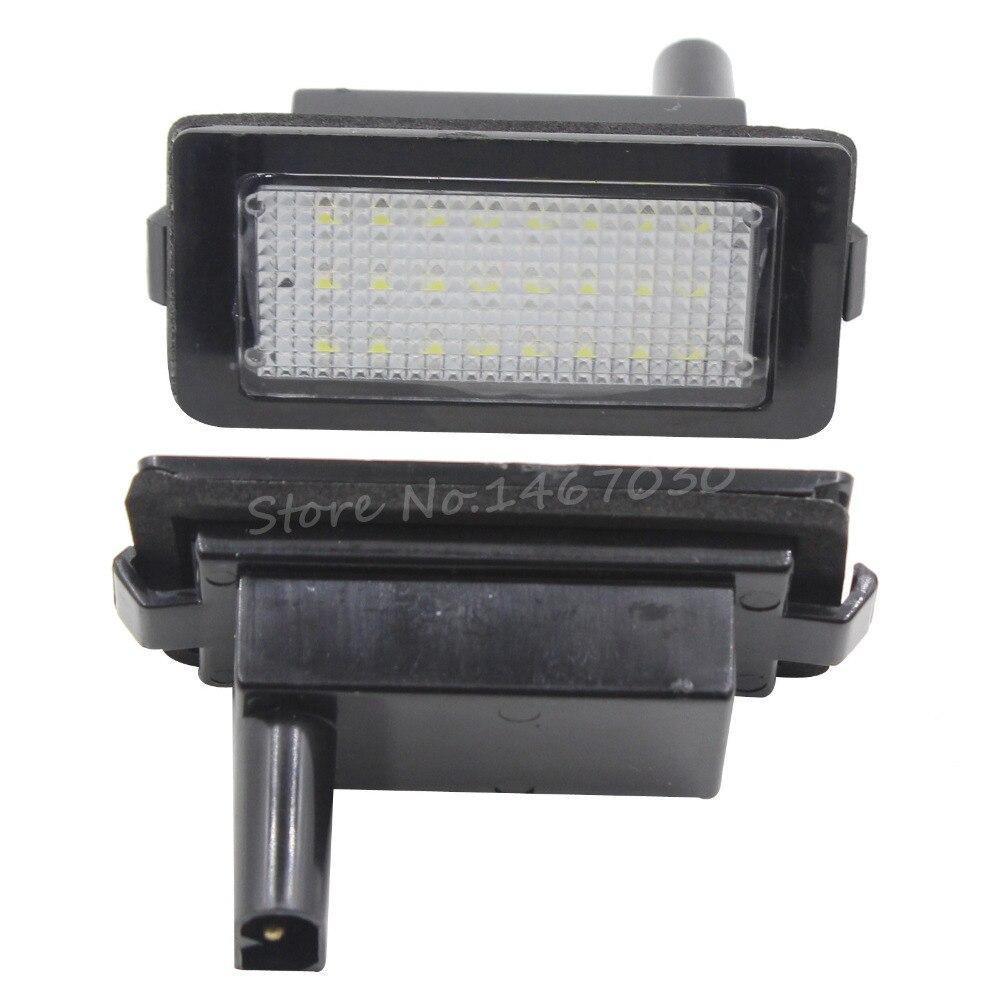 ჱ1 par 24 LED 3528 SMD Marcos de matrícula luz para BMW e38 7 ...