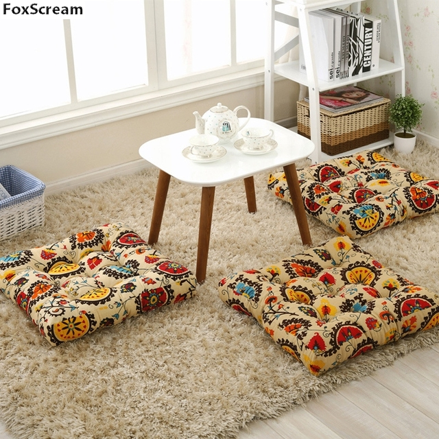 Bohemia Style Meditation Cushion Decorative Floor Cushion Tatami Cushion  Chair Patio Couch Seat Cushion Throw Pillows