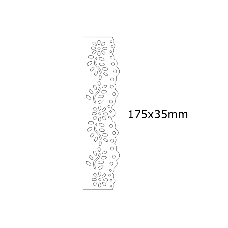 Special Design Rectangle Frames Metal Cutting Dies for DIY Scrapbook Album Paper Craft Stencil Stamps