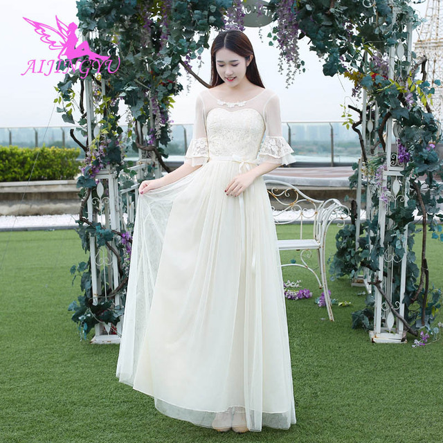 2f7d35dc8cf AIJINGYU 2018 sexy bridesmaid dress wedding guest formal dresses BN682