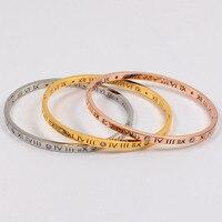 צמידי H צמידי אופנה באיכות גבוהה דיגיטלי רומא קוריאה תכשיטי אהבת צמיד קלאסי נשי אביזרי צמיד מתנות